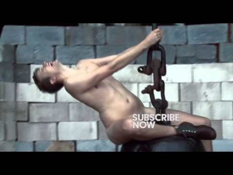 Greg James does Miley Cyrus' Wrecking Ball........NAKED