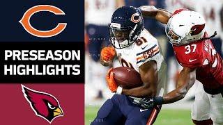 Bears vs. Cardinals   NFL Preseason Week 2 Game Highlights