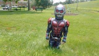 KID ANT-MAN VS YELLOWJACKET IN A BATTLE ROYALE