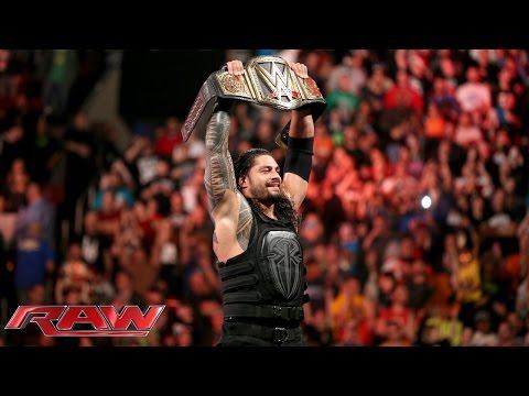 Roman Reigns vs. Sheamus - WWE World Heavyweight Championship Match: Raw, December 14, 2015