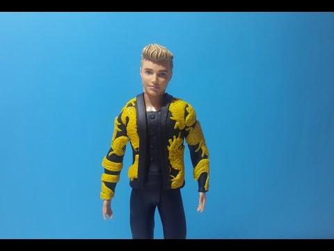 Justin Bieber Met Gala 2015 Barbie Kıyafeti (Play DOh)