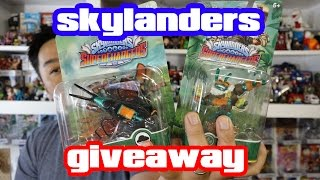 Skylanders SuperChargers GIVEAWAY!!! [BUZZ WING & THRILLIPEDE]