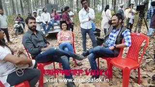 Abir, Koel, Ritwik and Priyanka in adda session in Dooars