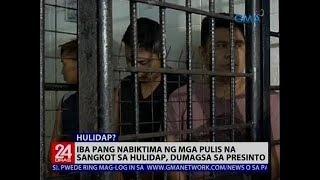 Marked money at ilang gamit ng biktima, nabawi sa mga naarestong pulis na sangkot umano sa hulidap