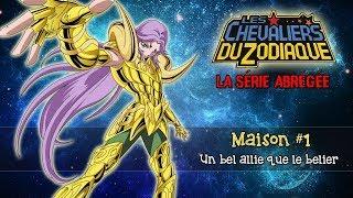 Les Chevaliers du Zodiaque, La Série Abrégée : Maison #1