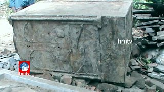 House Demolition yields Treasure Box in Narendrapuram at East Godavari District