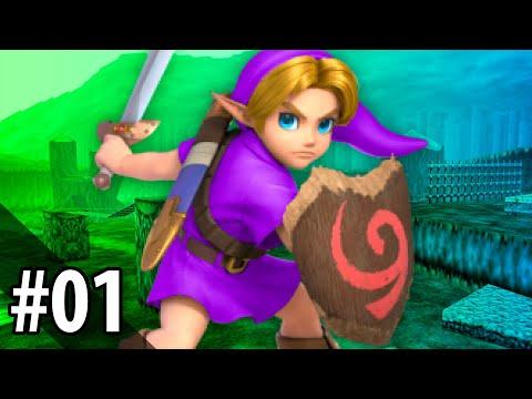 Xxx Mp4 LET S PLAY Zelda Ocarina Of Time Randomizer 1 — Link Gets A Massage 3gp Sex