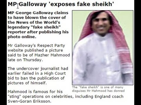 Fake Sheikh Mazher Mahmood Exposed by George Galloway