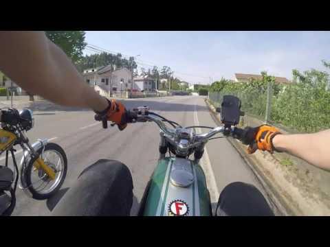 De Volta a Açao! | Famel Zundapp XF-17 #GreenZefa Athena70cc