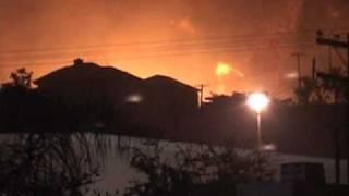 2003 Cedar Fire - Movie made by David Russell