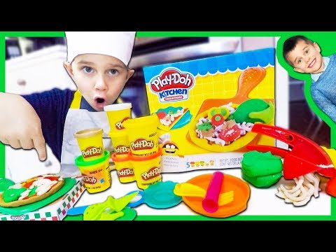 Play Doh Pizza Party Set turns into Real Pizza