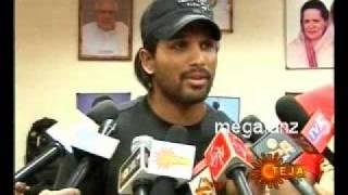 Kill Piracy says Allu Arjun