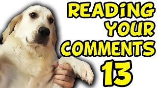 DILDO BUYING HABITS | Reading Your Comments #13