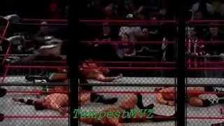 TNA LockDown 2014   Willow The Wisp debut   Jeff Hardy return   HD