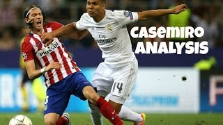 Casemiro I TACTICAL ANALYSIS I The key to Real Madrid's success?