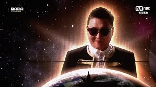 PSY - '나팔바지(NAPAL BAJI)' + 'DADDY' + 'GANGNAM STYLE(강남스타일)' in 2015 MAMA