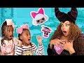 Toy School! Bad Teacher Maleficent w/ FAKE LOL Surprise Dolls Prank