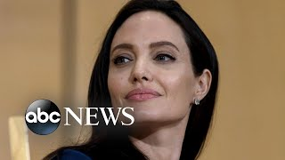 Angelina Jolie on her new film and the importance of family