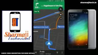 [Hindi - हिन्दी] Xiaomi Redmi Note 3 GPS Test and battery details