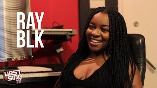 Ray BLK learning swag from her MUM!!!
