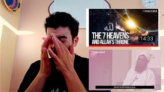 THE THRONE OF ALLAH REACTION - MINDBLOWING  CRYING EMOTIONAL