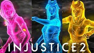 INJUSTICE 2 - ALL Enchantress Super Move COLORS (Clone Shaders)