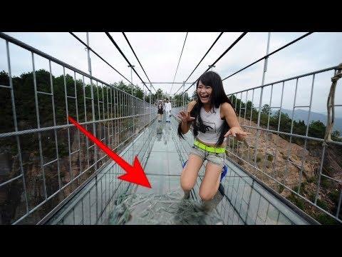 Mengerikan,!!! Jembatan kaca