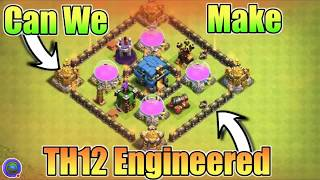 TOWN HALL 12 engineered base is possible  full explain in this video😍😍😍😍😙😙😙😙😙😙😙😎😎😎!!!!