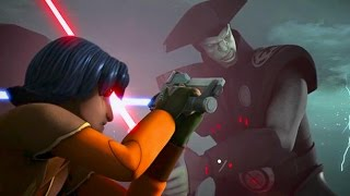 Starwars Rebels Kanan and Ezra vs The Inquisitors