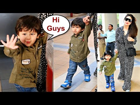 Xxx Mp4 Taimur Ali Khan Walking In Swag With Mommy Kareena Kapoor 3gp Sex