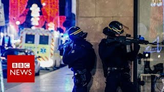 Hundreds hunting Strasbourg gunman - police - BBC News
