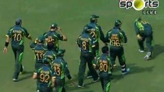 Dunya News-Asia Cup 2014: Sri Lanka set 297-run target for Pakistan in opening match