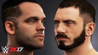 WWE 2K17 FUTURE STARS DLC - ALL SUPERSTAR MODELS - FACES & ATTIRES