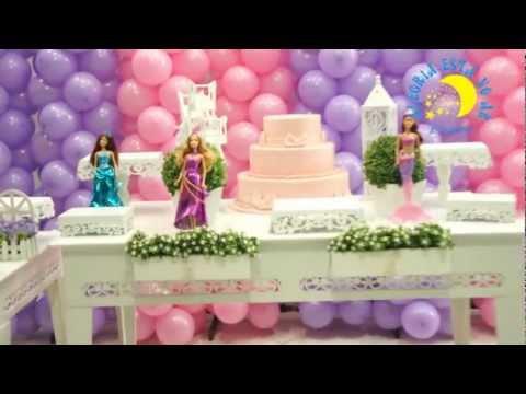 Decoração Infantil Provençal Barbie Vida de Sereia