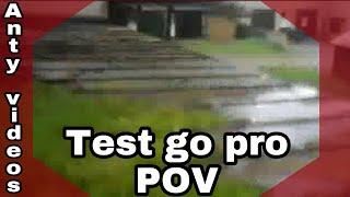 Test go pro (POV) /Anty videos\