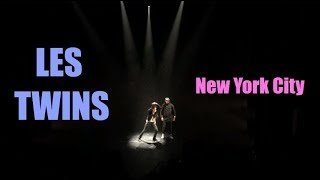 Les Twins at the Apollo Theater in NYC (Breakin' Convention 2015)