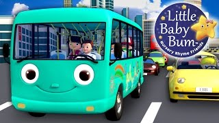 Wheels On The Bus | Part 10 | Nursery Rhymes | By LittleBabyBum!