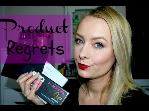 Products I Regret Buying March 2017
