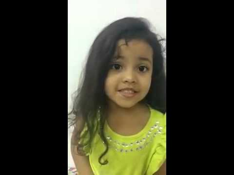 watch Cute Baby Indian knowledge about States and Capitals