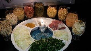 شوربة الآش بطريقه مضبوطه  وطعم رائع مطبخ شاي مهيل الشيف ام محمد