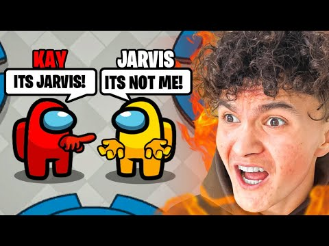 FRAMING Jarvis on AMONG US w FaZe Clan & Friends