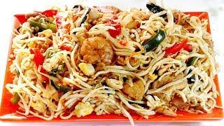 থাই চিকেন নুডুলস রান্না রেসিপি - Thai Chicken Noodles Recipe - Bangladeshi Thai Ranna Recipe Bangla