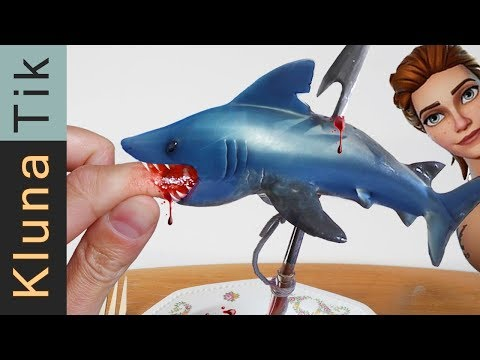 FORTNITE SHARK ATTACK KLUNATIK ASMR eating sounds no talk ataque de tiburón サメの攻撃