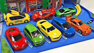 Best Learning Colors Video Mashup for Kids Hot Wheels Cars Tomica Trucks Autos for Children Toddlers