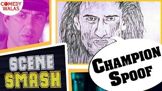 Champion Spoof | Nazir Ke Baal Kaatne Hai?  Ft.(Sunny Deol & Rahul Dev) | Scene Smash
