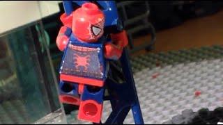 Captain America Civil War Airport Battle Scene Recreated in Lego Part 1