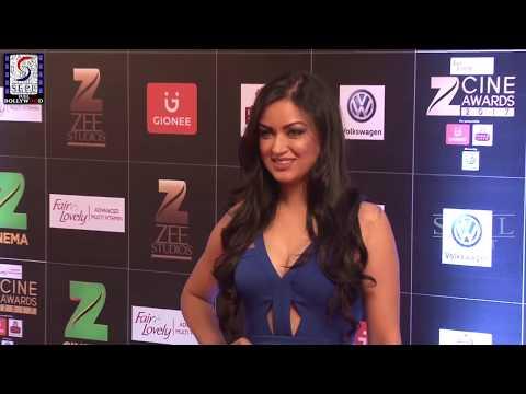Maryam Zakaria Sizzling Hot Show at Zee Cine Awards