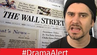 I Declare War on the Wall Street Journal! #DramaAlert H3h3,  RiceGum & Gabbie , DallMyD & Clown!