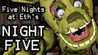 Five Nights at Eth's (Night 5)    FACE YOUR FEARS AND SAVE THEM ALL!!!