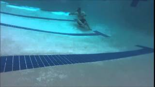 Under Water Video in an 8 feet deep Swimming Pool with a VGB Drain!